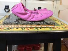 IVANKA TRUMP Women's Size 7M pink Suede Leather Flats slip- on  Shoes, EUC