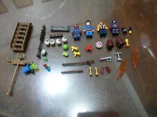 Non-Lego LOT of Bricks + accessories + minifigure - 39 pieces - Check Below