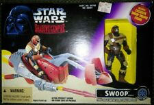 NEW VINTAGE STAR WARS 1996 SHADOWS OF THE EMPIRE SWOOP VEHICLE FIRES TORPEDO MNT