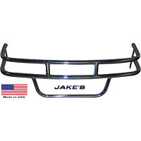 Jake's EZGO Golf Cart Stainless Steel Brush Guard fits Medalist/TXT 1994.5-Up