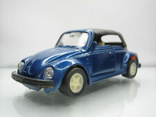 Diecast Made in China Volkswagen Beetle Kafer 1/43? Blue Good Condition