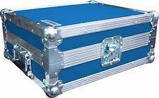 TECHNICS SL1210 Giradischi DJ deck SWAN Flight case (blu chiaro PVC rigido)