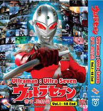 DVD ULTRAMAN : Ultra Seven Vol.1-48 End English Subs Region All + FREE DVD