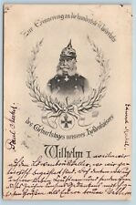 Postcard German Emperor Wilhelm I Birth Centennial Commemoration 1897 K21