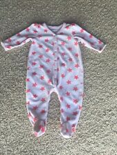 Baby Girl Size 3/6 Month Sleep And Play One Piece