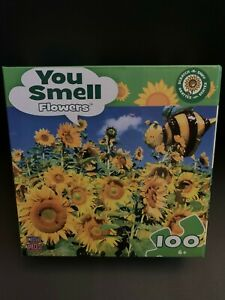 New Masterpieces You Smell Flowers 100 Piece Puzzle
