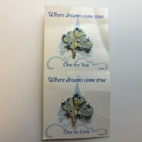 Where Dreams Come True - Tinker Bell Pixie Dust - 2 Pin Pack Disney Pin 49889