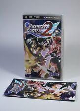 PHANTASY STAR PORTABLE 2 Sony PSP Playstation Portable Spiel UMD OVP Anleitung