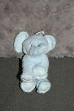 DOUDOU TARTINE ET CHOCOLAT ELEPHANT BLEU 12 X 10 CM