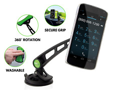 In Car Mobile Phone Holder – Universal Dashboard Windscreen Mount Cradle Stand