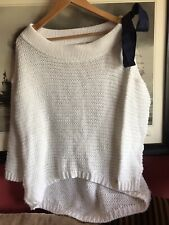 By o la la White Jumper Sweater Size 8 / 10 Oversized