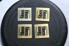 fibes drum badges 1970's set of 4 N.O.S.+ free bonus!! low serial #'s
