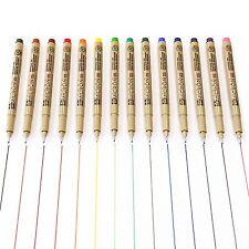 Sakura PIGMA MICRON-Fineliners pigmento de color-Juego de 14 - 0.5mm
