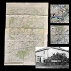 RARE WWII 1944 German Panzer Captured 'Battle of Arracourt' France Combat Map