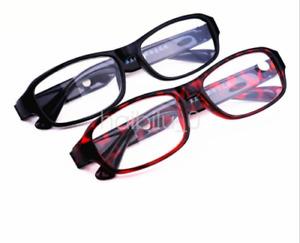 Reading Glasses +4.5 +5.0 +5.5 +6.0 High Strength Black / Red Plastic Frame