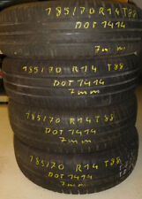 4 Stück Sommerreifen 185/70R14 T88 Continental Eco Contact 3 DOT1414 7mm