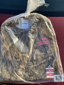 Mossy Oak BRUSH Camo Ladies T Shirts - Small Long Sleeve Lightweight Shirt