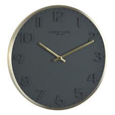 Londres horloge jaune BROSSE 30cm- 01241 Horloge murale avec mouvement Quar