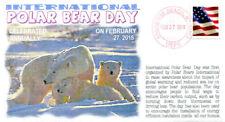 COVERSCAPE computer designed International Polar Bear Day 2018 event cover