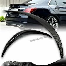 Carbon Print For 2015-2020 BENZ C-CLASS W205 Coupe 2D-Rear Window Roof Spoiler