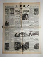 N476 La Une Du Journal Le jour 25 août 1936 français massacrés en Espagne