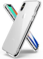 For iPhone X / 8 / 8 Plus Ringke [FUSION] Shockproof Protective Clear Case Cover