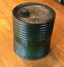 Vintage Dupont Keg Style Gun Powder Can, Vintage Tins Or Cans