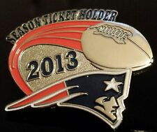 Genuine! NEW ENGLAND PATRIOTS 2013 SEASON TICKET HOLDER LAPEL PIN. UNUSED!