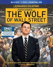 The Wolf of Wall Street Blu-ray + DVD + DVD