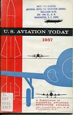 US Aviation Today 1957 Book from Federal Aviation Library