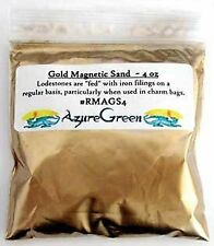 1 X Gold Magnetic Sand 4oz *