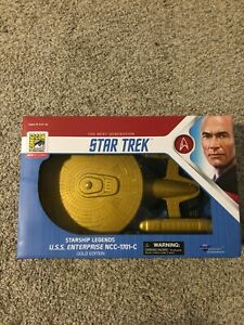 2019 SDCC Gold Edition Star Trek USS Enterprise NCC-1701-C Diamond Select