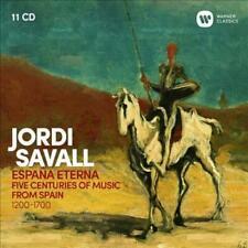 JORDI SAVALL - ESPANA ETERNA NEW CD