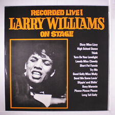 LARRY WILLIAMS: On Stage LP (Sweden) Blues & R&B