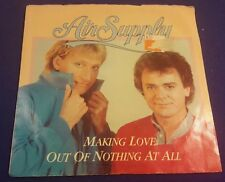 AIR SUPPLY Making Love Out Of Nothing At All/Late Again 45 Record Arista Records