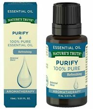 Nature's Truth Essential Purify Refreshing 100% Pure Plant Base Oil 0.51 oz 1Pk