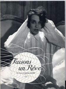 Faisons Un rêve / Sacha Guitry  DVD