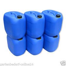 6 x 30 L Behälter Plastikeimer Kanister Wasserbehälter Box lebensmittelecht NEU.