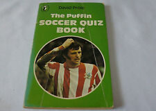 The Puffin Soccer Quiz Book by David Prole (Paperback, 1975) Ideal for Pub quiz