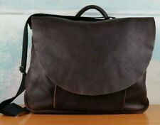 Gap Dark Brown GENUINE LEATHER Messenger  postman Bag