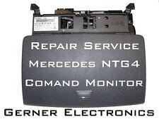 Riparazione MERCEDES w204 Comand Display Monitor a204 820 46 97 9f45, a204 820 40