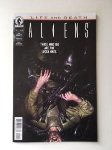 Dark Horse Comics Aliens Life and Death #1 of 4 September 2016 Abnett Moritat MT