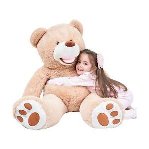 IKASA Giant Teddy Bear Plush Toy Stuffed Animals (Brown, 39 inches) Brown