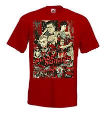 BLADE RUNNER Movie Poster T shirt Black brick   .Natural all sizes Harrison Ford