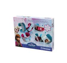 Child's Disney Frozen Style Your Own Bangles Bracelet Jewellery Set Kids Craft M