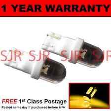w5w T10 501 Xenon Bernstein Kuppel LED Seite Blinker Glühbirnen X2 HID sr100101