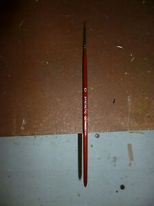 Paint Brushes, sable, synthetic Kolinsky Sable New