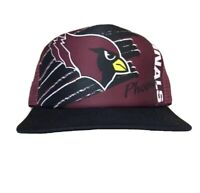 Vtg Deadstock Phoenix Cardinals Snapback Trucker Hat Cap NFL Football Arizona
