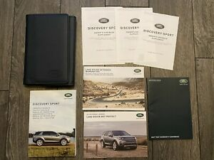 LAND ROVER DISCOVERY SPORT L550 OWNERS USER MANUAL HANDBOOK & WALLET 2014-2018