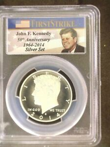 2014 S Kennedy MS70PL SILVER EH FS Nice Eye Appeal Clean Slab  Problem Free Coin